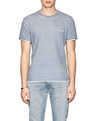 Lyst - Rag   Bone Tripp Pocket T-shirt in Blue for Men a7a22de68d1
