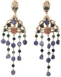 Goossens Paris - Iolite Drop Earrings - Lyst