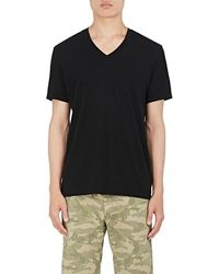 James Perse - V-neck T-shirt - Lyst