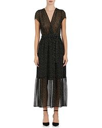Tomorrowland - Floral Crepe Belted Dress - Lyst