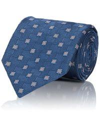 Brioni - Floral Woven Silk Necktie - Lyst
