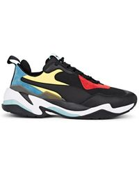 376790221e9e PUMA - Thunder Spectra Neoprene   Leather Sneakers - Lyst