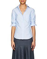 Barneys New York - Cotton Button-down Shirt - Lyst