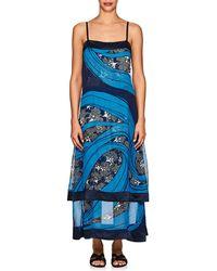 Warm - Carolyn Georgette Sleeveless Dress - Lyst