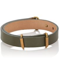 Giles & Brother - Leather Visor Cuff - Lyst