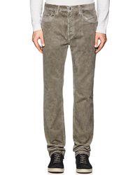 Massimo Alba - Velvet Straight Jeans - Lyst