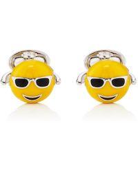 Jan Leslie - Emoji Cufflinks - Lyst