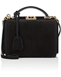 Mark Cross - Grace Small Suede Box - Lyst