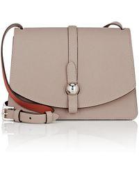 Moynat - Madeleine Leather Shoulder Bag - Lyst