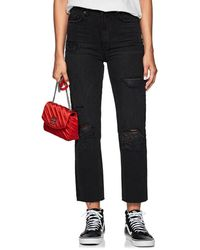 Ksubi - Chlo Wasted Distressed Straight Jeans - Lyst
