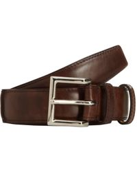 John Lobb - Museum Leather Belt - Lyst