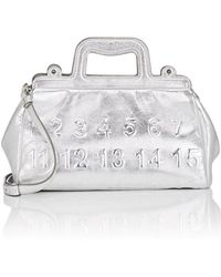Maison Margiela - Small Leather Doctor's Bag - Lyst