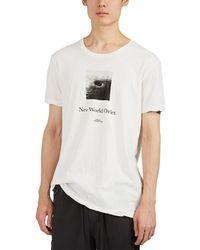 Ksubi - New Order Graphic Print T-shirt - Lyst