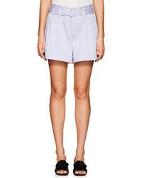 Marc Jacobs - Belted Stretch-cotton Shorts - Lyst