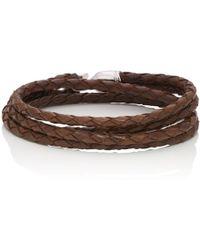 Miansai - Trice Double-wrap Bracelet - Lyst