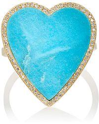 Jennifer Meyer - Heart Ring - Lyst