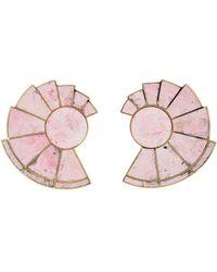 Monica Sordo | Nautilus Earfan Earrings | Lyst