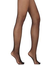 Wolford - Individual 10 Back Seam Tights - Lyst