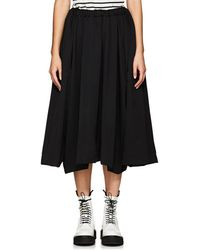 Comme des Garçons - Wool Drawstring Skirt - Lyst