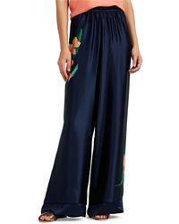 Warm - Pickford Floral Silk Pants - Lyst