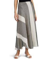 Zero + Maria Cornejo - Cadeo Striped Cotton-blend Skirt - Lyst