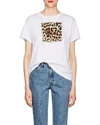 Marcelo Burlon - Leopard-print Cotton T - Lyst