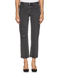 Current/Elliott - The Original Straight Jeans - Lyst