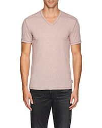 John Varvatos - Mélange Jersey T-shirt - Lyst