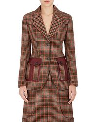Prada - Houndstooth Wool-blend Two - Lyst