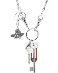 Vetements - Key Chain Necklace - Lyst