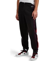Givenchy - 3 Logo Fleece Track Trousers - Lyst