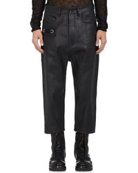 Rick Owens - Astaire Crop Jeans - Lyst