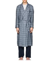 Loro Piana - Julien Plaid Cashmere Robe - Lyst