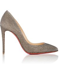 6bfa854f3c55 Christian Louboutin - Pigalle Follies Patent Leather Pumps - Lyst