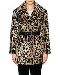 FRAME - Cheetah-print Faux - Lyst