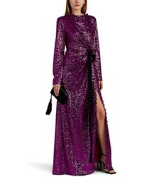 Prabal Gurung - Sequined Draped Gown - Lyst