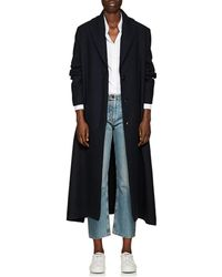 The Row - Dranner Cotton-wool Belted Trench Coat - Lyst