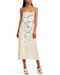By. Bonnie Young - Floral Slipdress - Lyst