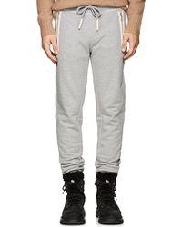 4640b096d Lyst - Moncler Zip in Gray for Men