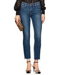 L'Agence - Sada Crop Slim Jeans - Lyst