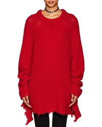 R13 - Shredded Cashmere Fisherman Sweater - Lyst
