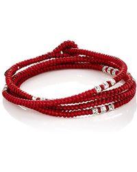 M. Cohen - Knotted Cord Wrap Bracelet - Lyst