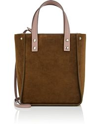 Fontana Milano 1915 - Tum Tum Lady Suede   Leather Tote Bag - Lyst 6ee24fe6c