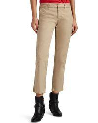 Nili Lotan - East Hampton Cotton Pants - Lyst