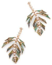 Nak Armstrong - Palm Earrings - Lyst