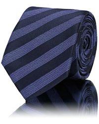 Lanvin - Striped Silk Necktie - Lyst