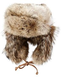 Crown Cap - Fur Trapper Hat - Lyst