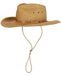478b4ba4b6d32 Lyst - Eric Javits Velour Padre Fur Felt Wide Brim Hat in Black for Men