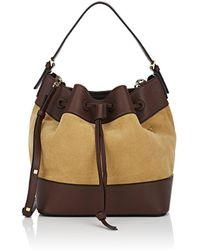 Loewe Midnight Bucket Bag - Brown
