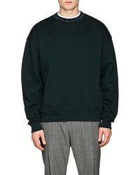 Acne Studios - Flogho Cotton Fleece Sweatshirt - Lyst